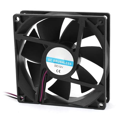 dc brushless fan 12v 90 x 25mm 9025 2pin 12v dc brushless pc cpu cooler