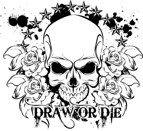 skulls and roses coloring page 29641 bestofcoloring com