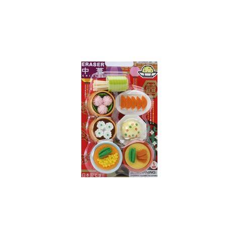 Eraser Set japanese eraser set collectible food 7 pcs