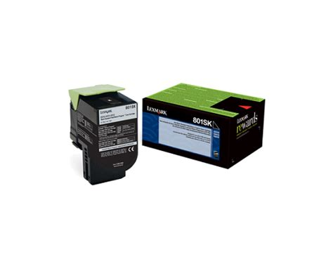 Toner Sk 11 lexmark part 80c1sk0 black toner cartridge 2 500 pages