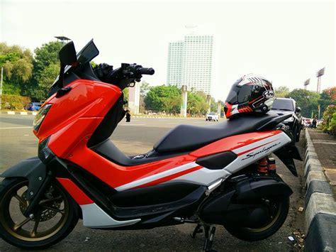 Spion R25 Caron Yamaha N Max modifikasi yamaha n max 155 matic superleggera kenthoet boreup