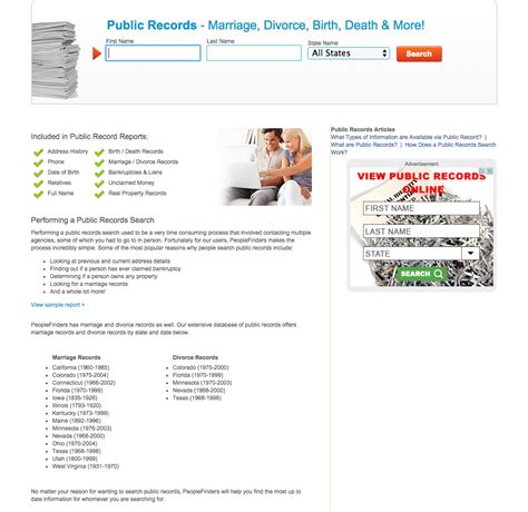 Records Search Top 20 Complaints And Reviews About Peoplefinders