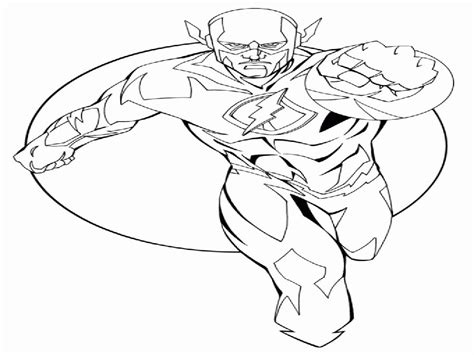 the flash superhero coloring pages coloring home