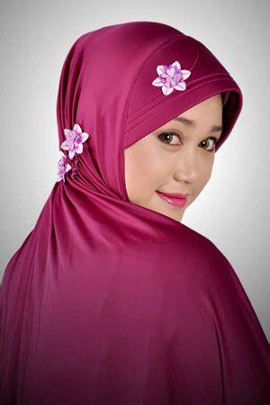 Mukena Dewasa Katun Hanum Pink Busana Muslim Jilbab Terbaru butik busana muslim keluarga modis mukena flower