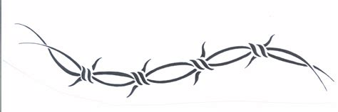 Barbed Wire Tattoo Clip Art 20 Barb Wire Designs For