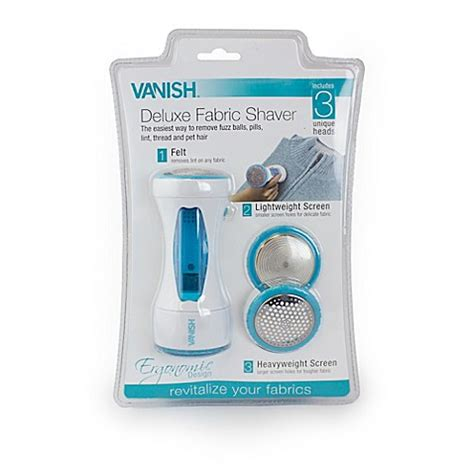 upholstery shaver vanish deluxe fabric shaver bed bath beyond