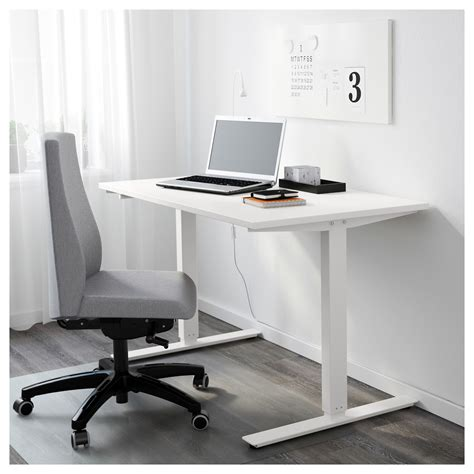 ikea sit and stand desk skarsta desk sit stand white 120 x 70 cm ikea