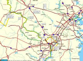 road map of dc metro area