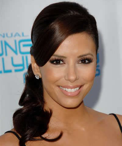 eva longoria hairstyles 2015 eva longoria hairstyles side ponytail latest hair