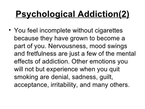 quit smoking mood swings how to overcome physical and psychological nicotine addiction