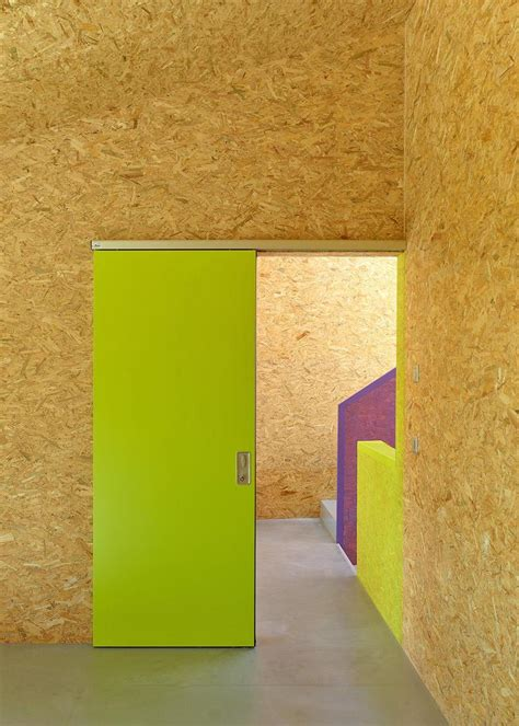 Pre Fabricated House With Painted Osb Panels Modern