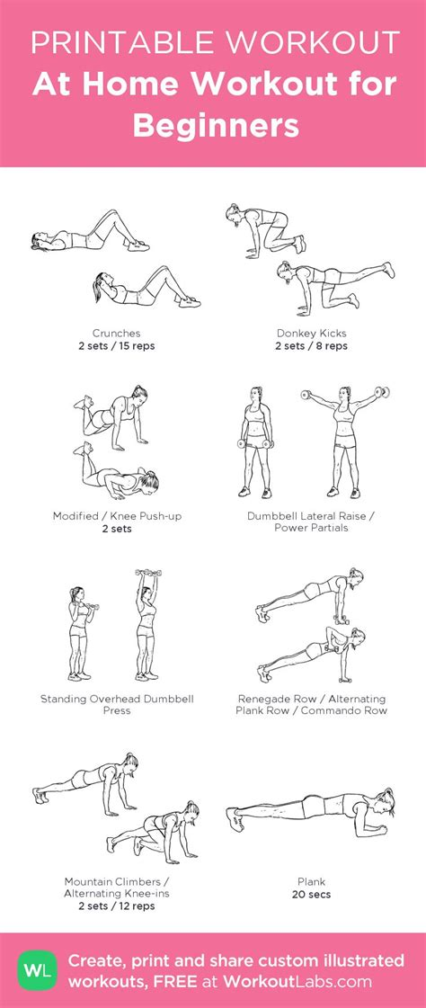 394 best printable workout sheets images on