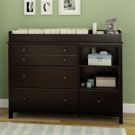 black espresso changing table black changing table dresser combo bestdressers 2017