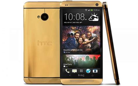 Hp Htc One Gold handphone termahal