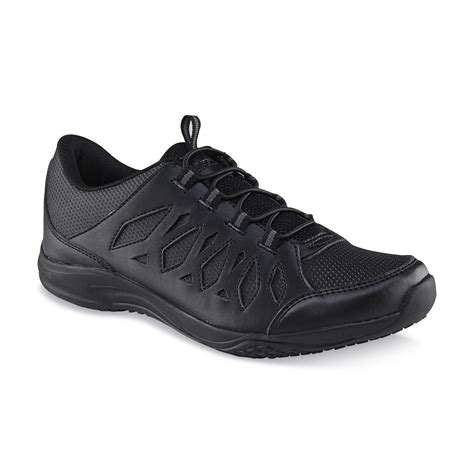 black work shoes safetrax s brenna slip reisistant work shoe black