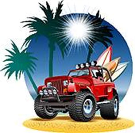 beach jeep clipart jeep vectors royalty free gograph