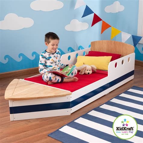 kids boat bed kidkraft boat toddler bed walmart com
