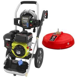 ryobi 3 100 psi 2 5 gpm 212cc gas pressure washer with 15