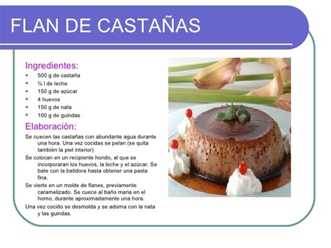 recetas de cocina postre postres