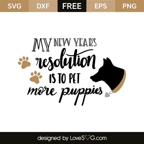 Home Designer Suite Free Download my new year s resolution is to pet more puppies lovesvg com