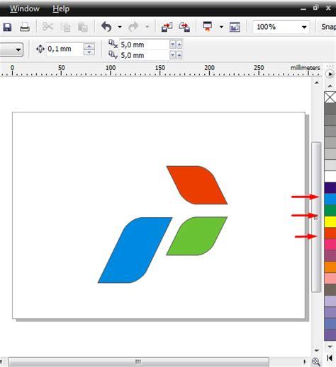 tutorial corel draw x4 membuat spanduk cara membuat logo pertamina di coreldraw x4 tutorial