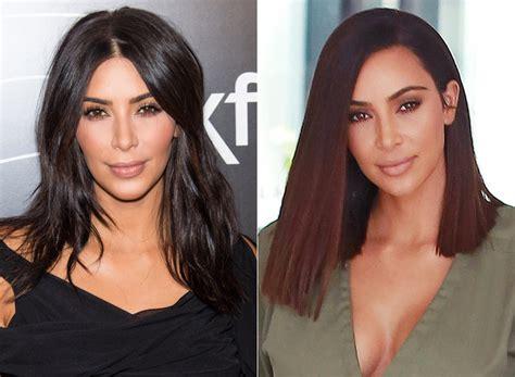 kim kardashians  lob pretty  defines hairgoals