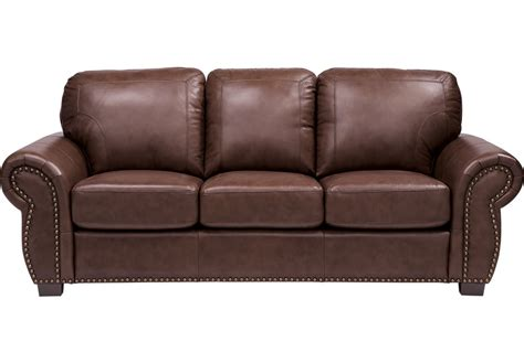 Sofa Bed Leather Brown Balencia Brown Leather Sofa Leather Sofas Brown