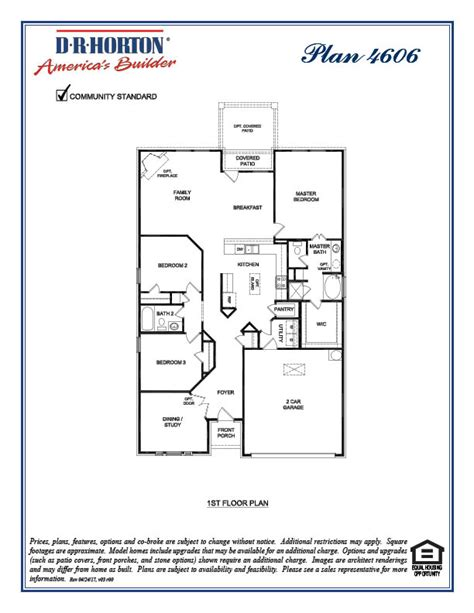 Dr Horton Floor Plan Archive | dr horton floor plan floor dr horton homes floor plans