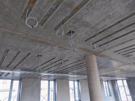 Spots In Betondecke by Flexibilit 228 T F 252 R Thermoaktive Decken Deckenheizung