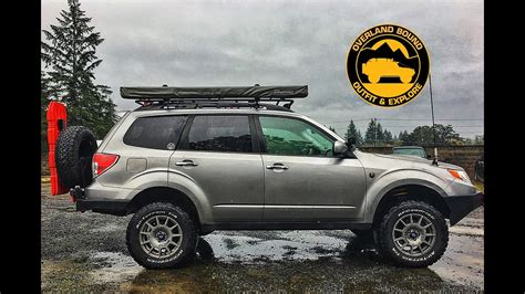 2010 subaru forester off road 2010 subaru forester xt rig walk around youtube