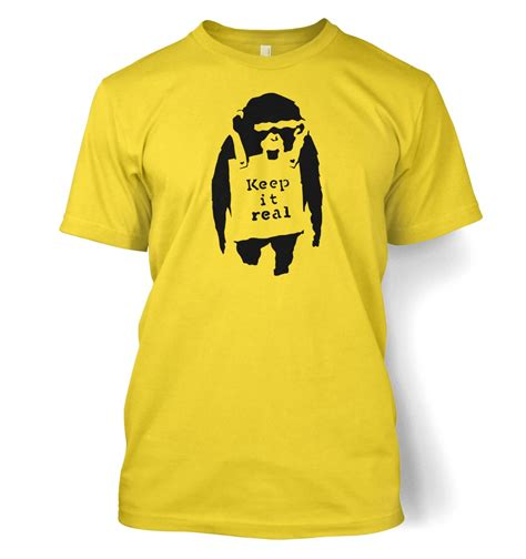 keep it real monkey t shirt