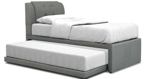 neak fabric 2 in 1 bed frame single sized