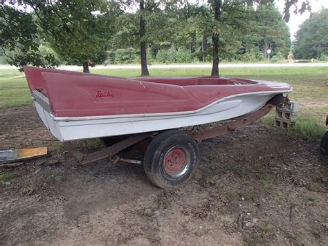 1961 redfish boat viewing a thread fin boat 1959 red fish