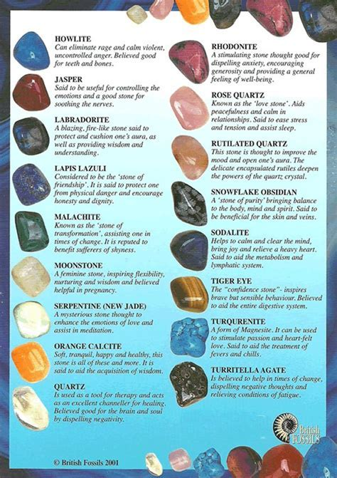 17 Best images about Gemstone Name Chart on Pinterest