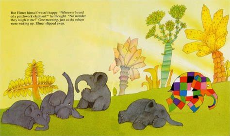 Elma The Patchwork Elephant - image gallery elmer book