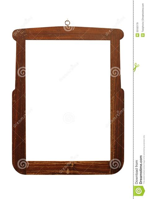 Handmade Wooden Frames - handmade wooden frame royalty free stock images
