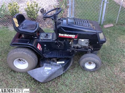 Garage Sale Lawn Mower by Armslist For Sale Mtd Yard Machine Lawn Mower