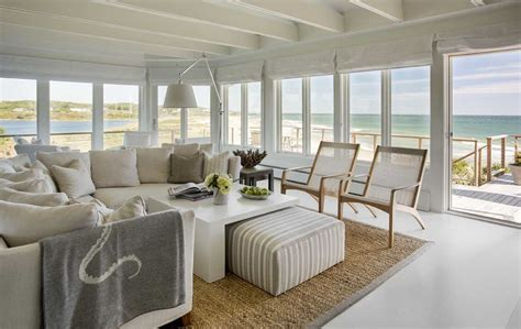 beach house interior design decoist 20 beautiful beach house living room ideas