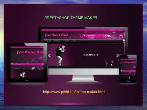theme maker prestashop prestashop theme maker