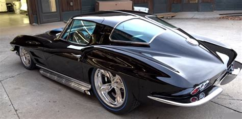 1962 corvette split window slick 1963 split window corvette sema 2016 build cars