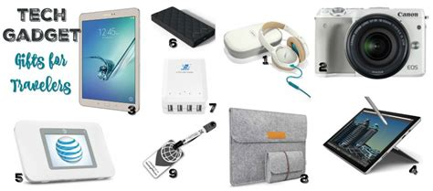 tech gadget gifts awesome gifts for travelers with wanderlust love