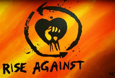 Logo Rise Against rise against logo by lizeyre on deviantart