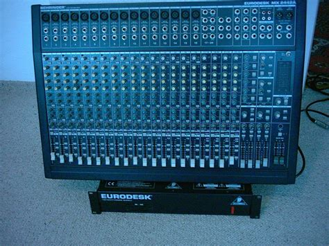 Mixer Behringer Mx 2442a behringer live mixer mx 2442a