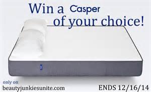 Casper Mattress Giveaway Giveaway Get Better Sleep On A Casper Win An