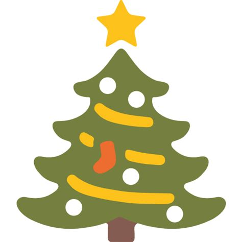 christmas tree emoji for facebook email sms id 1526