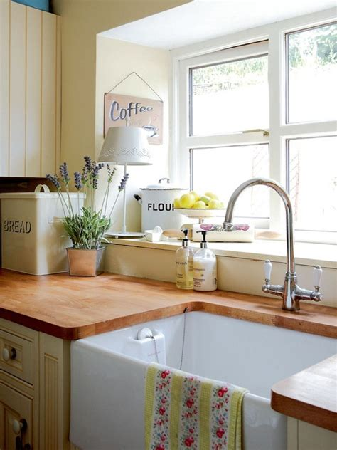 Country Style Kitchen Sink So Sweet Bring Back Wooden Counters Kitchen Sinks Butcher Blocks And