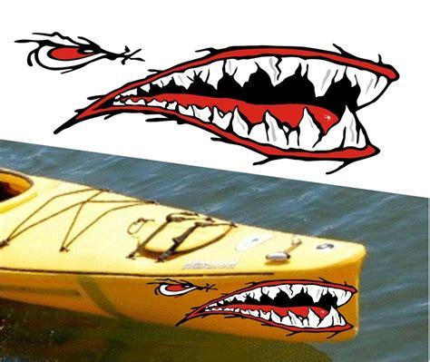 old boat decals shark mouth decal boat car interior design