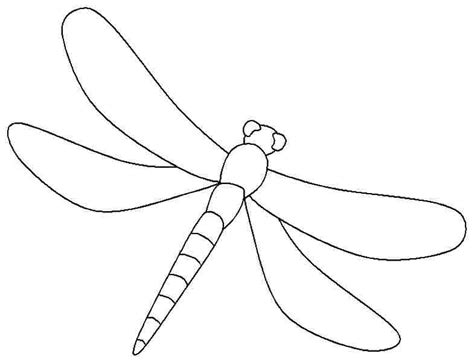 dragonfly template free dragonfly printable coloring pages free printable
