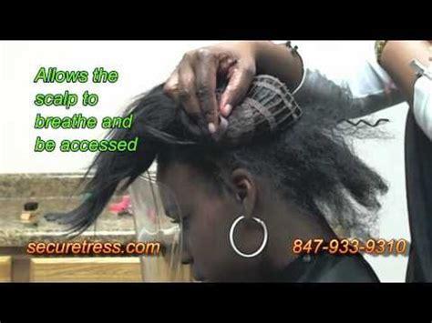 securetress by flexi strand new braid only weave no sew no glue no tape no net
