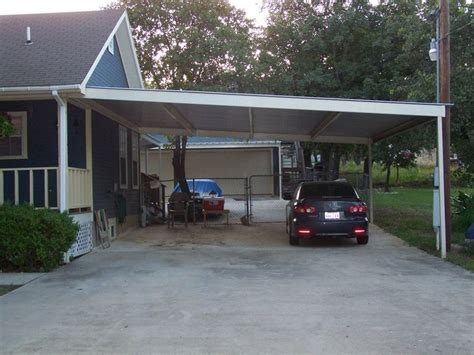 plans metal lean  carport  rustic dining